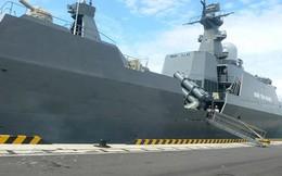 Hai biên đội tàu 011 - Đinh Tiên Hoàng và 015 - Trần Hưng Đạo thăm Trung Quốc