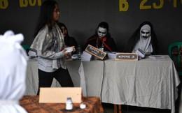 Indonesia dùng ma cà rồng lôi kéo cử tri tới bỏ phiếu