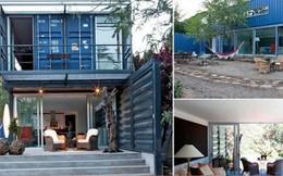Độc đáo với thiết kế ngôi nhà 128m² nằm gọn trong 4 chiếc container bỏ hoang