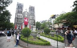 Cận cảnh nhà thờ tại Hà Nội có kiến trúc phỏng theo Nhà thờ Đức Bà Paris