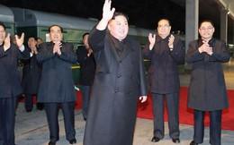 Ông Kim jong-un lên tàu bọc thép, bắt đầu chuyến thăm lịch sử tới Nga