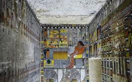 Bên trong ngôi mộ cổ nghìn năm tuổi ở Ai Cập màu vẫn nguyên... như mới