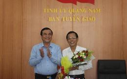 Quảng Nam có tân Trưởng ban Tổ chức Tỉnh ủy