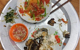 Mang tiếng được để phần đồ ăn riêng, nhưng mâm cơm ngổn ngang xương cá vẫn khiến nàng dâu trẻ tủi thân phát khóc