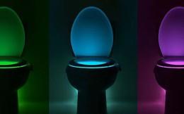 Độc đáo đèn vệ sinh chống vi trùng tự kích hoạt theo chuyển động