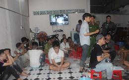 """Phá ổ bạc lớn do Tuấn """"nước"""" tổ chức tại nhà riêng"""