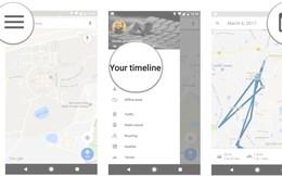 """Google sẽ thêm tùy chọn """"tự động xóa"""" cho tính năng lịch sử vị trí"""