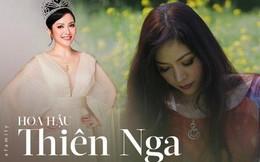 Hoa hậu Thiên Nga: Tiểu thư cành vàng 2 lần đăng quang Hoa hậu, lấy chồng giáo sư đại học Mỹ nhưng phải chịu nhiều bất hạnh nghiệt ngã
