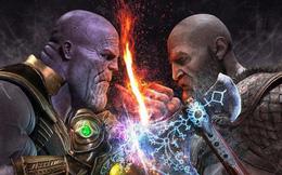 Sau tất cả, liệu chiến thần Kratos có cửa nào để đánh lại Thanos hay không?