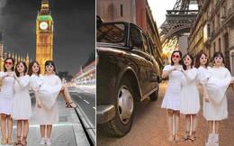 """Dân tình """"quỳ"""" trước bộ ảnh của hội bạn Sài Gòn: Chơi thân với nhau hơn 10 năm, hễ cứ đi du lịch là lại rủ nhau chụp hình lầy lội"""