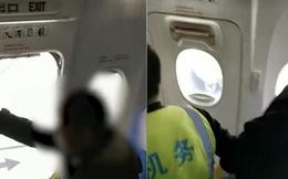Lo không có đường xuống, hành khách Trung Quốc tự ý... mở cửa thoát hiểm máy bay