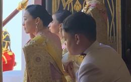 Khoảnh khắc đắt giá của hoàng hậu Thái Lan tại lễ đăng quang của vua
