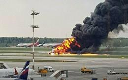 Máy bay Nga bốc cháy làm 41 người chết: Nguyên nhân ban đầu