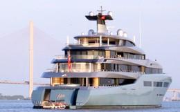 Ảnh: Cận cảnh siêu du thuyền của tỷ phú người Anh xuất hiện ở Cần Thơ