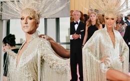 """Từ thảm họa """"bộ xương di động"""", Celine Dion xuất sắc thoát xác thành bà hoàng thảm đỏ Met Gala năm nay!"""