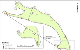 Cồn cát nổi bất thường tại biển Cửa Đại liên tục dịch chuyển, hình thành thêm doi cát