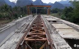 Cầu 130 tỷ đến suối cá thần Cẩm Lương: Xây 9 năm vẫn chưa xong