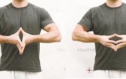 Bài tập phòng ngừa hội chứng ống cổ tay