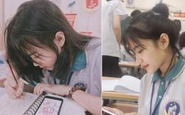 Bị chụp lén mà vẫn đẹp xuất sắc, nữ sinh 10X Chuyên Thái Nguyên 'nổi như cồn' chỉ sau một đêm