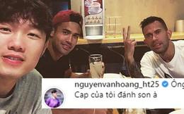 Thủ môn đẹp trai của U23 'nghi ngờ' Xuân Trường đánh son khi đi ăn ở Thái Lan