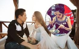 Bà bầu 7 tháng An Dĩ Hiên khoe ảnh cùng chồng tỷ phú du lịch ở Việt Nam