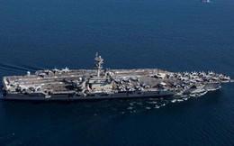 Tàu sân bay Mỹ đi qua kênh đào Suez giữa lúc căng thẳng với Iran
