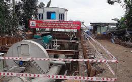 Đường Nguyễn Hữu Cảnh ngập, chốt giá thuê máy bơm khủng