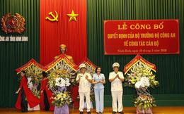 Bộ Công an bổ nhiệm Giám đốc Công an tỉnh Ninh Bình