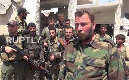 """Sư đoàn """"Hổ Syria"""" đánh bại thánh chiến, diệt tại trận hơn 15 phần tử khủng bố"""