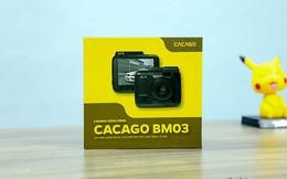 Trải nghiệm Camera hành trình Cacago BM03 : Nhỏ gọn, giá mềm 2,39 triệu đồng