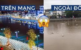 """""""Bờ sông thiên nga"""" Tam Bạc Hải Phòng khiến cư dân mạng ngã ngửa vì ảnh trên mạng với ngoài đời quá khác nhau"""