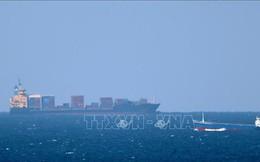Bốn tàu thương mại bị tấn công ngoài eo biển Hormuz