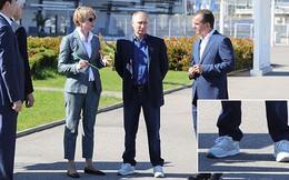 Tổng thống Putin 'trẻ trung' khi vận giày thể thao nổi tiếng của Mỹ