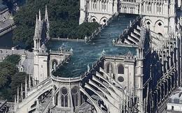 Kiến trúc sư đề xuất xây bể bơi trên nóc nhà thờ Đức Bà Paris