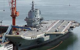 """Tàu sân bay """"nhà làm"""" đầu tiên của Trung Quốc chuẩn bị được biên chế?"""
