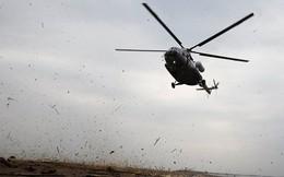 Rơi máy bay trực thăng quân sự, 4 người thương vong