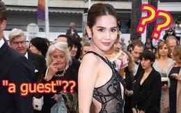 """Ngọc Trinh là ai giữa LHP Cannes: Bị nhiếp ảnh quốc tế gắn mác """"vị khách vô danh"""", thậm chí nhầm hẳn sang mỹ nhân Cbiz"""