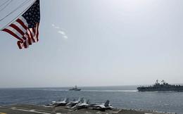 Hải quân Mỹ tập trận ở biển Ả rập, gây căng thẳng với Iran