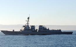 """Tàu khu trục Mỹ áp sát bãi cạn Scarborough ở Biển Đông, Trung Quốc """"vẫn im lặng"""""""
