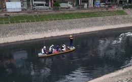 Sau 4 ngày thử nghiệm 'bảo bối' của Nhật, sông Tô Lịch đã bớt mùi