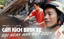"""Chuyện người chiến sỹ CSGT được anh em tài xế Sài Gòn gọi bằng cái tên thân mật: """"Anh Đạt kích bình, cứ gọi là có"""""""