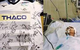 Áo đấu của CLB HAGL được đấu giá để cứu mạng cậu bé 9 tuổi