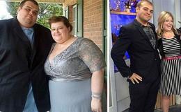 """Những màn lột xác vịt hóa thiên nga của các cặp đôi chứng minh chân lý """"đồng vợ đồng chồng"""" béo đến mấy cũng giảm cân thành công"""