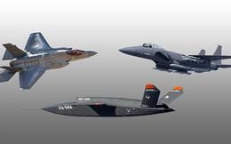 """Mỹ sẽ đưa UAV """"song hành"""" cùng tiêm kích hiện đại"""