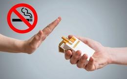 """Bác sĩ """"mách"""" bí quyết cai thuốc lá thành công"""