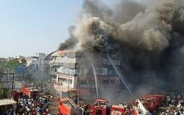 Cháy kinh hoàng tại Ấn Độ, hàng chục học sinh thương vong