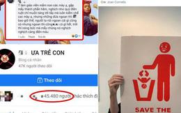 CĐM kêu gọi report fanpage 45k like trên Facebook có nội dung kỳ thị, lăng mạ trẻ em