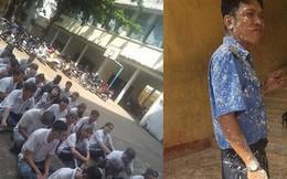 Sai người sai thời điểm: Ném bột vào bác bảo vệ, đám học trò bị phạt tập thể ngay dưới sân trường