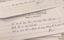 Xúc động lời phê trong sổ liên lạc của thầy giáo Sài Gòn