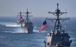 Tàu chỉ huy hải quân Mỹ tiến vào biển Baltic làm gì?
